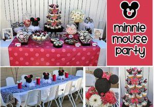First Birthday Minnie Mouse Decorations Minnie Mouse 1st Birthday Party Ideas New Party Ideas