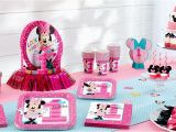 First Birthday Minnie Mouse Decorations Minnie Mouse 1st Birthday Party Supplies Party City