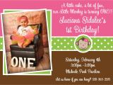 First Birthday Monkey Invitations Printable Birthday Invitations Girls Mod Monkey 1st Party