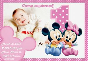 First Birthday Party Invitation Templates 1st Birthday Invitation Templates Free Printable