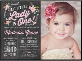 First Birthday Photo Invitations Girl 1000 Ideas About 21st Birthday Invitations On Pinterest