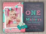 First Birthday Photo Invitations Girl Wording for First Birthday Invitations Dolanpedia
