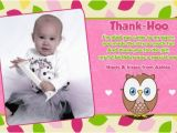 First Birthday Photo Thank You Cards 1st Birthday Thank You Quotes Quotesgram