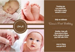 First Birthday Rhymes for Invitations 1st Birthday Invitation Wording Ideas From Purpletrail