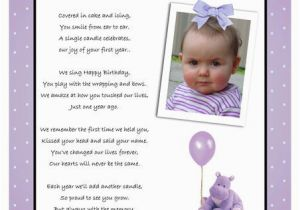 First Birthday Rhymes for Invitations Boy 1st Birthday Poem Diigo Groups