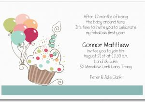 First Birthday Rhymes for Invitations First Birthday Invitation Wording Bagvania Free