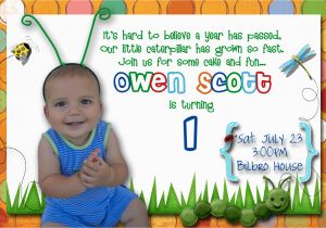 First Birthday Rhymes for Invitations First Birthday Party Invitation Ideas Bagvania Free
