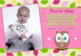 First Birthday Thank You Card Messages 1st Birthday Thank You Quotes Quotesgram