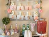 First Year Birthday Decorations 21 Pink and Gold First Birthday Party Ideas Pretty My Party
