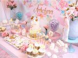 First Year Birthday Decorations Kara 39 S Party Ideas Baby Unicorn 1st Birthday Party Kara