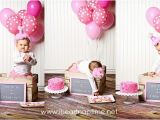 First Year Birthday Decorations Pretty In Pink First Birthday Party I Heart Nap Time