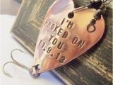 Fishing Birthday Gifts for Him Hooked On You Fishing Lure Custom Men Gift Meaningful Gifts