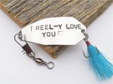 Fishing Birthday Gifts for Him Personalized for Him Fishing Lure I Love You Gift for