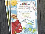 Fishing Birthday Invitations Free Fish Birthday Invitation Free Thank You Card by