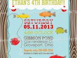 Fishing Birthday Invitations Free Fishing Printable Birthday Party Invitation Dimple