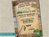 Fishing Birthday Invitations Free Printable Fishing Birthday Invitation by