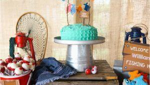 Fishing Birthday Party Decorations Kara 39 S Party Ideas William 39 S Gone Fishing Birthday Party