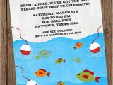 Fishing First Birthday Invitations Gone Fishing Birthday Invitations 1 00 Each with Envelope
