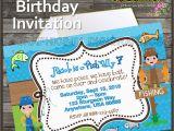 Fishing themed Birthday Party Invitations Fish themed Birthday Party Invitations Invitation Librarry