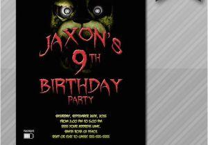 Five Nights At Freddy S Birthday Party Invitations 39 Invitation