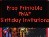 Five Nights at Freddy S Printable Birthday Invitations Free Printable Five Nights at Freddy S Birthday