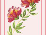 Flower Cards for Birthdays Flower Greeting Cards for Birthdays