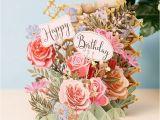 Flower Cards for Birthdays Meandmcq Happy Birthday Flowers 3d Card Temptation Gifts