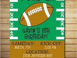 Football Birthday Cards to Print 8 Best Images Of Football Birthday Printable Cards for