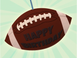 Football Birthday Cards to Print Football Birthday Free Birthday Card Greetings island