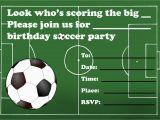 Football Birthday Cards to Print Tips for Choosing Football Birthday Invitations