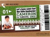 Football First Birthday Invitations Football 1st Birthday Party Sweet Baby James Custom Mae 39 D