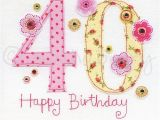 Fortieth Birthday Cards 40th Birthday Cards 40th Greeting Cards fortieth