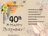 Fortieth Birthday Cards 40th Birthday Greeting Card Messages Best Happy Birthday