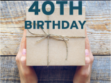 Fortieth Birthday Gifts for Him 40 Gift Ideas for Your Husband 39 S 40th Birthday Milestone