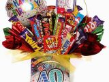 Fortieth Birthday Gifts for Him 40th Birthday Chocolate Bouquet for Him 40th Chocolate