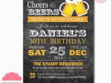 Fortieth Birthday Ideas for Him 40th Birthday Invitation for Men 30th Birthday Invitation