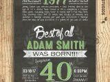 Fortieth Birthday Invitations 40th Birthday Invitation Surprise 40th Birthday Invite