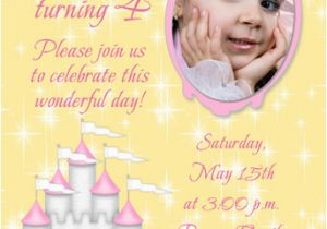Fourth Birthday Invitation Wording 4th Party Cimvitation