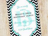 Free 13th Birthday Invitations 13th Birthday Party Invitation Girl Birthday Invitation