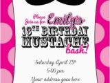 Free 13th Birthday Invitations 191 Best Images About 13th Birthday Party On Pinterest