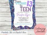 Free 13th Birthday Invitations Best 25 13th Birthday Parties Ideas On Pinterest 9th