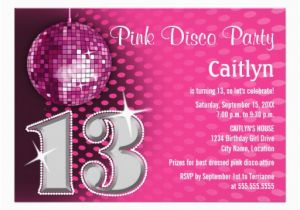 Free 13th Birthday Invitations Personalized Thirteenth Party