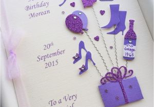 Free 50th Birthday Cards For Facebook Card Women Personalised Handmade Gift