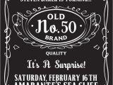 Free 50th Birthday Invitation Templates 50th Birthday Party Invitations for Men Dolanpedia