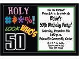 Free 50th Birthday Invitation Templates Free Printable 50th Birthday Invitations Templates
