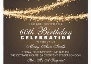 Free 60th Birthday Invitation Templates 60th Birthday Invitation Card Template Free Download