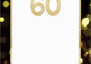 Free 60th Birthday Invitation Templates Free Printable 60th Birthday Invitation Templates Free