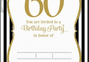 Free 60th Birthday Invitation Templates Free Printable 60th Birthday Invitations Free Invitation