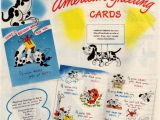 Free American Greetings Birthday Cards Vintage Birthday Cards From American Greetings 1946