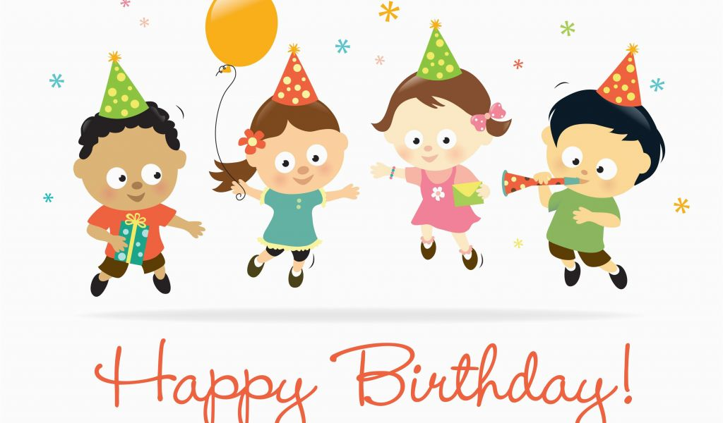 Free Animated Birthday Cards For Kids Birthday Animations Free